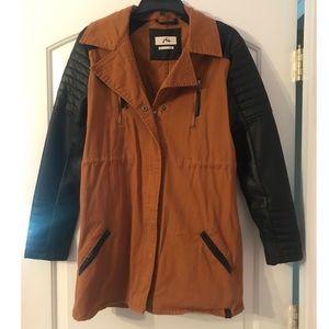 RVCA medium length light weight jacket